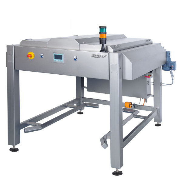 compact 1 unit for greasing dough drums (bakery)