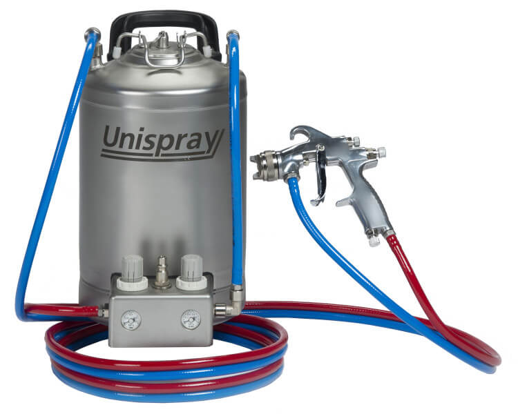 handy 10 unispray greaser machine 1